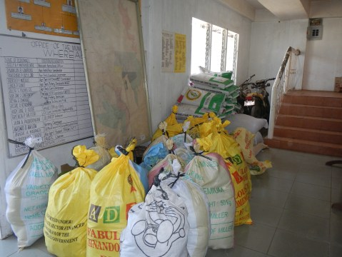 Relief Goods for Distribution