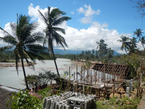 An overview of the shoreline in Caraga